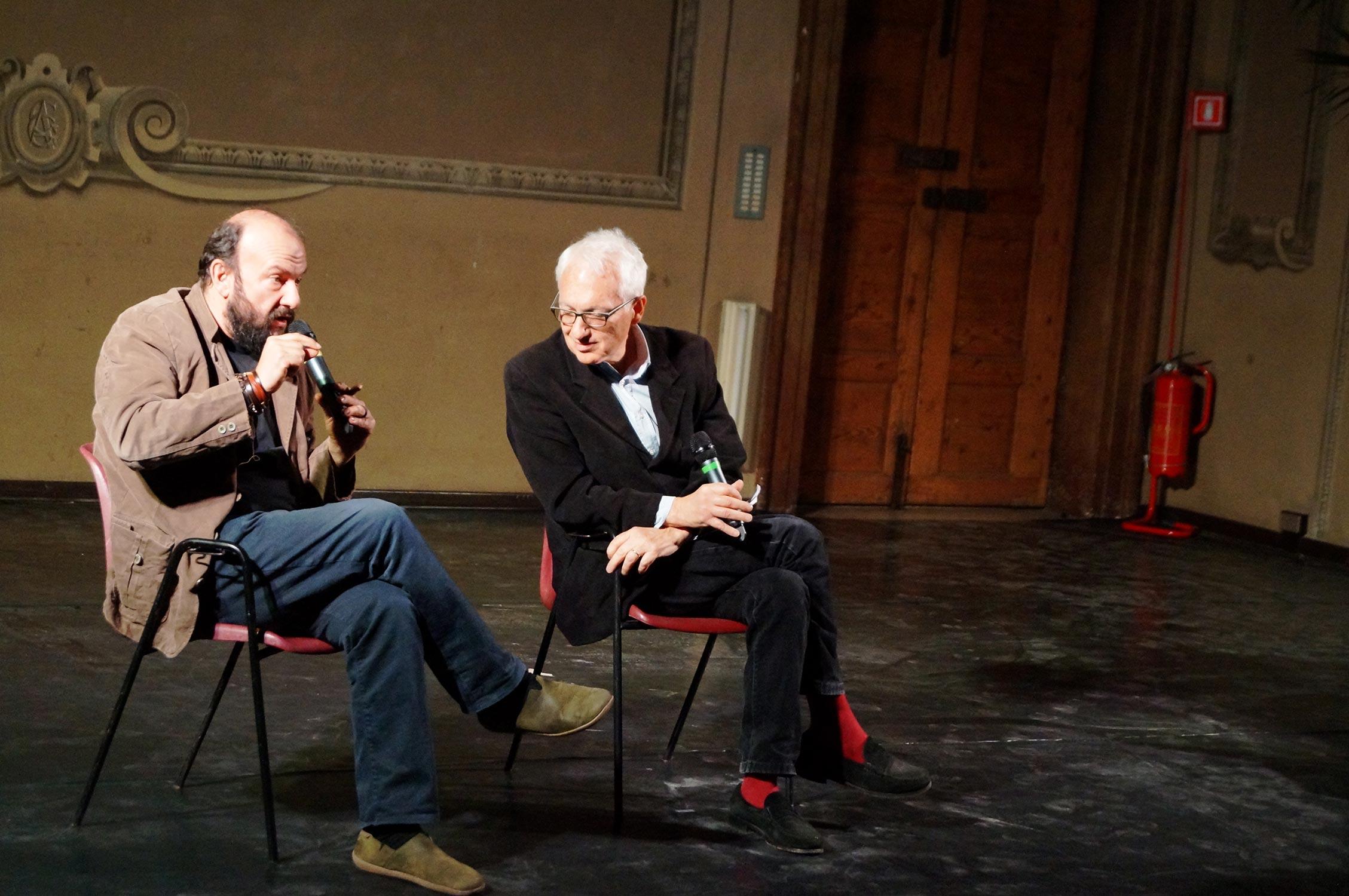Davide Rondoni e Filippo La Porta
