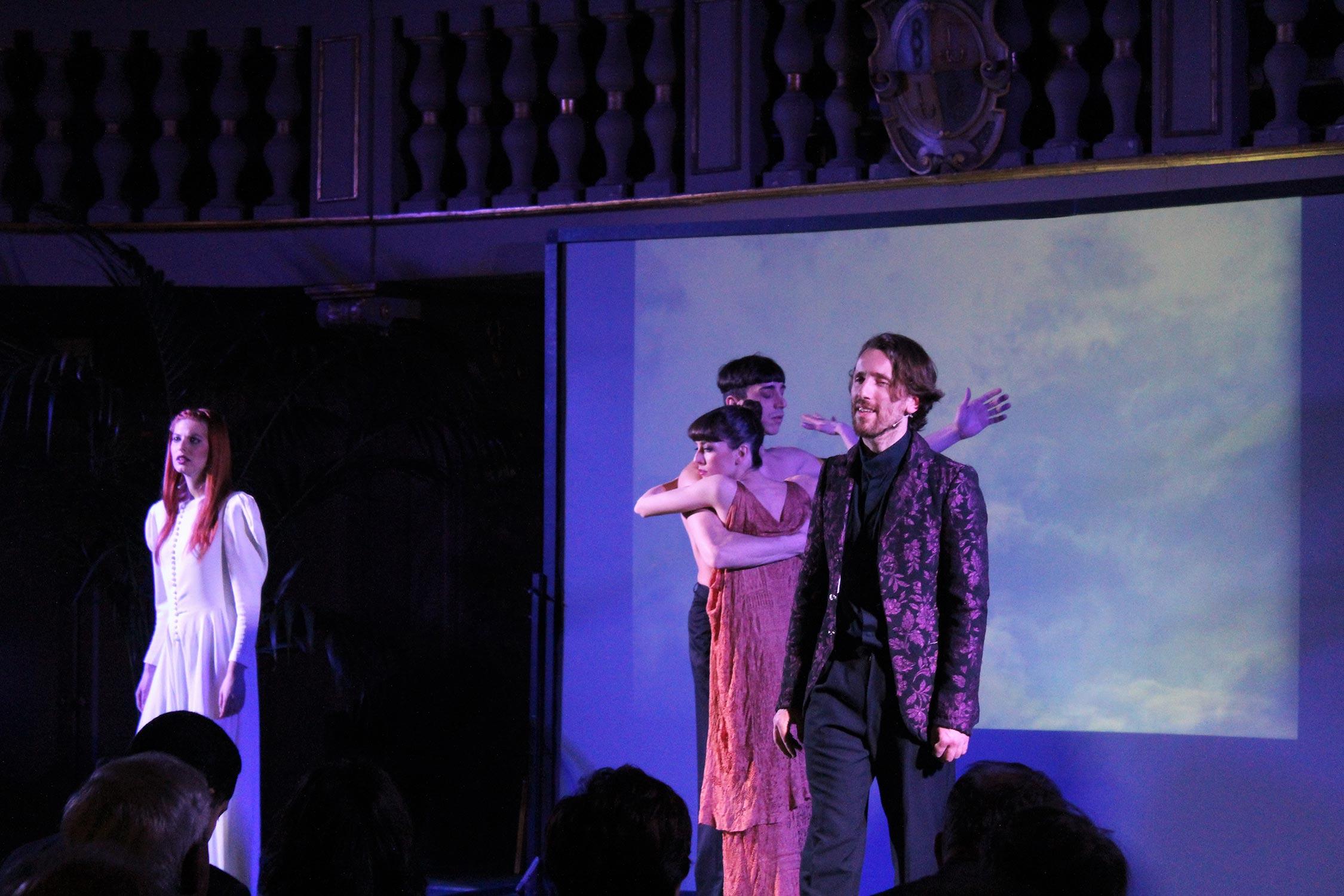 Letizia Bravi, Alberto Baraghini, Christian Cucco e Alice Carrino