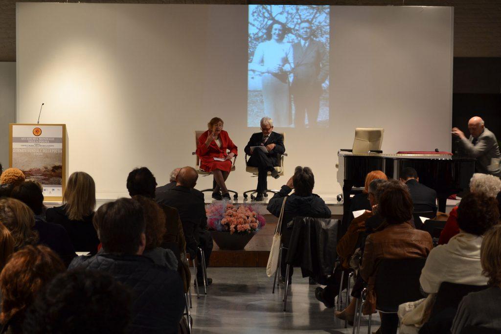 Maria Luisa Spaziani e Ennio Cavalli