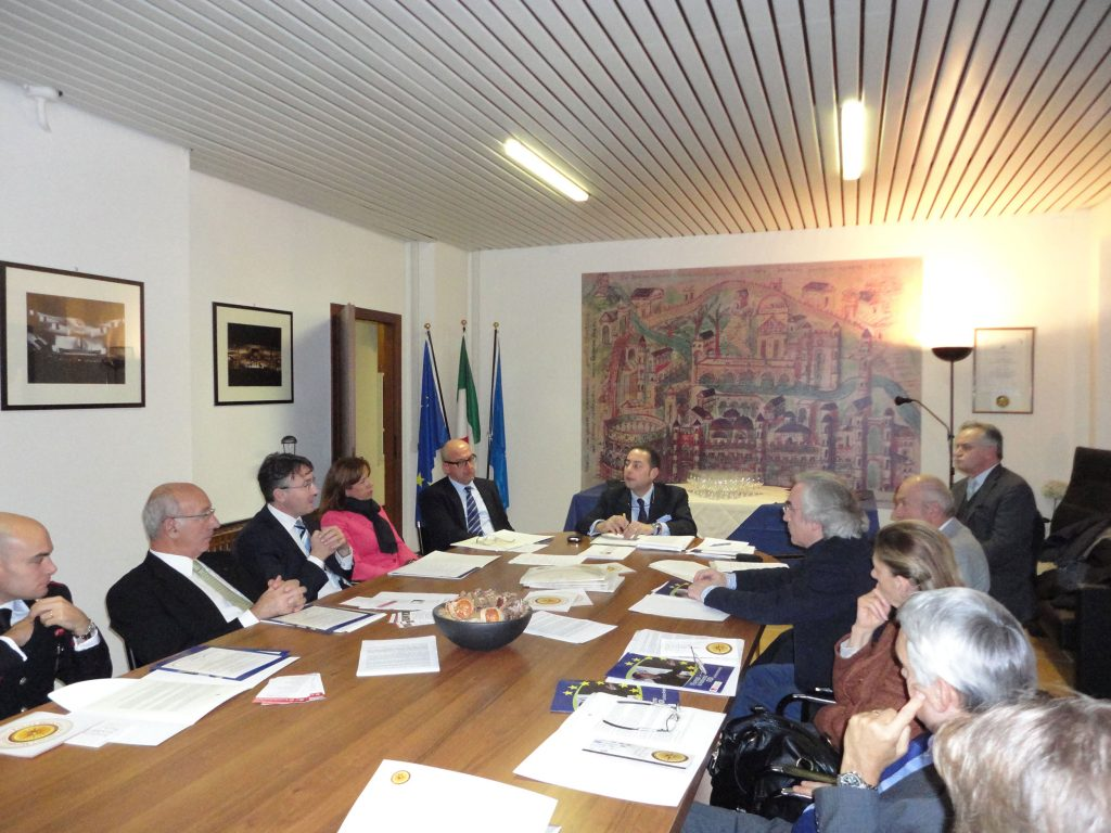 Presentazione dell'Unione Europea con il Vicepresidente del Parlamento Europeo Gianni Pittella
