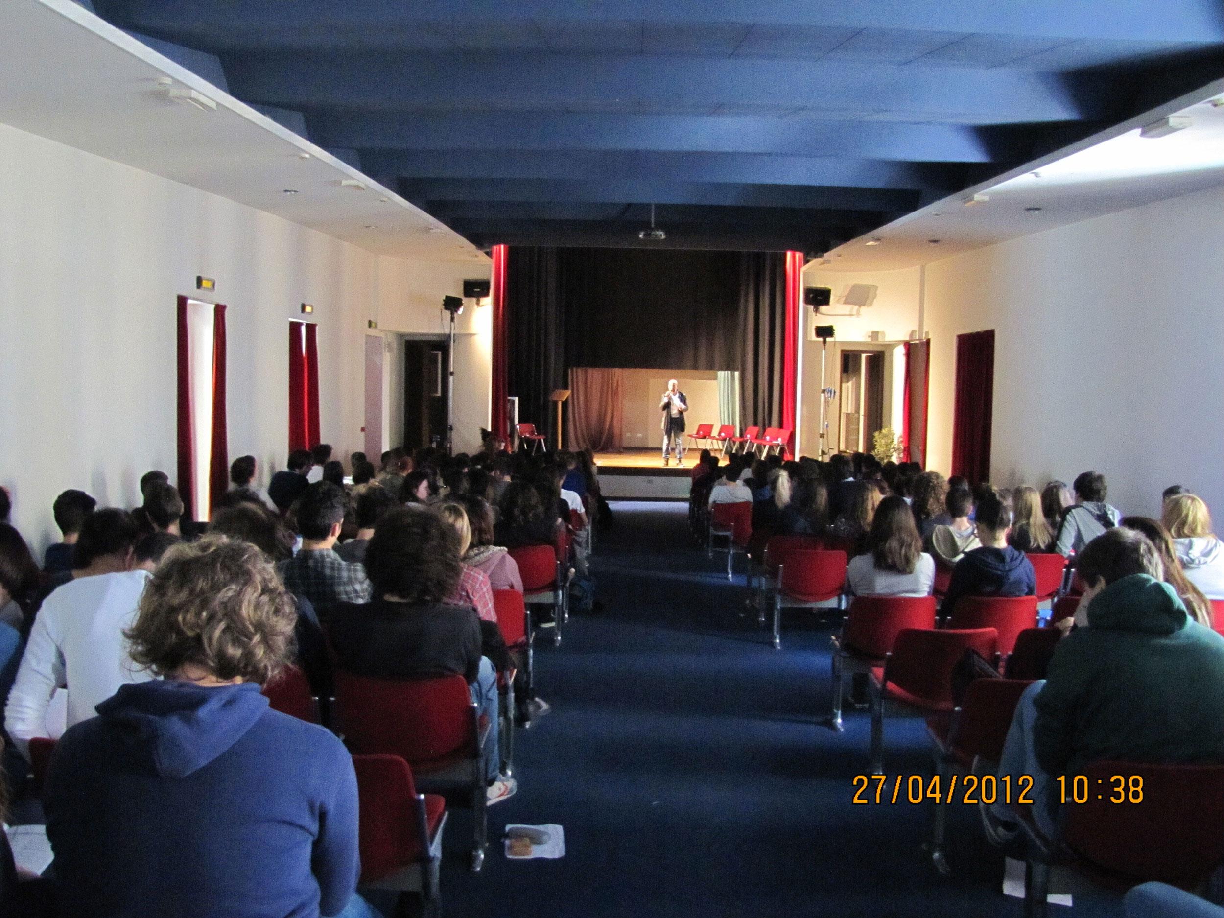 Ragazzi partecipanti al Poetry Slam