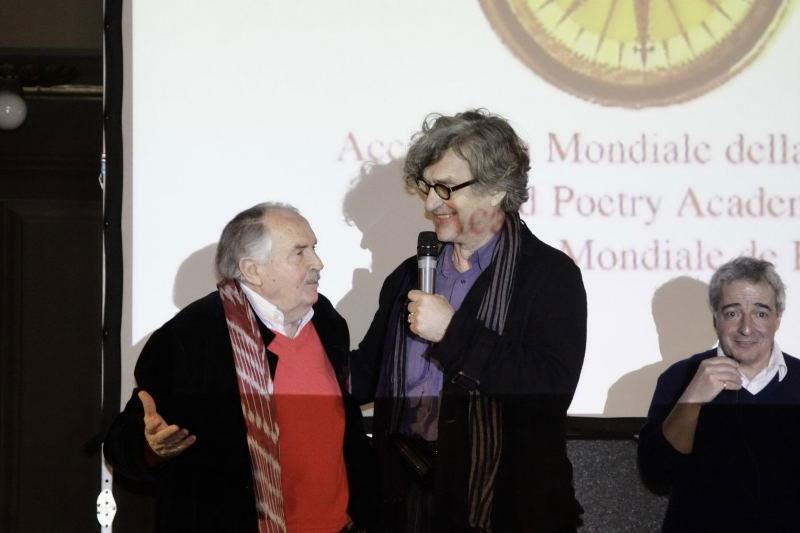 Tonino Guerra e Wim Wenders