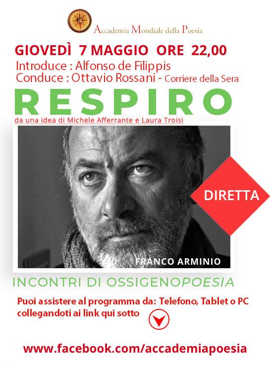 RESPIRO - Incontri di Ossigeno Poesia - FRANCO ARMINIO